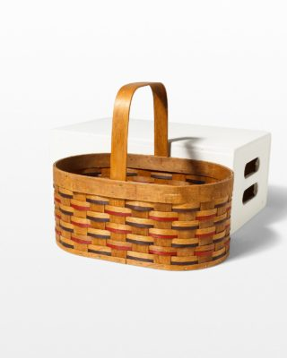 Front view of Wayne Picnic Basket