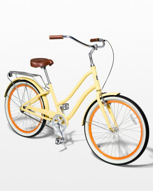 Front view of Keene Canary Bicycle