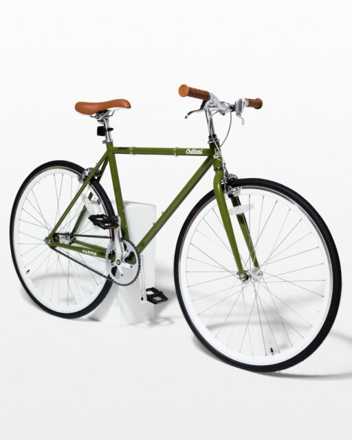 Front view of Sienna Sage Green Bicycle