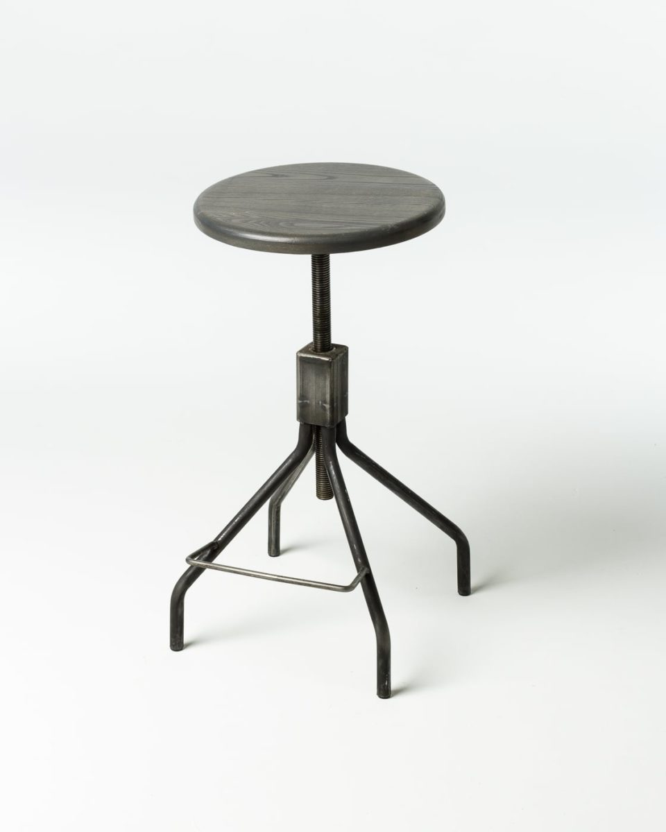 Front view of Milton Adjustable Screwtop Stool