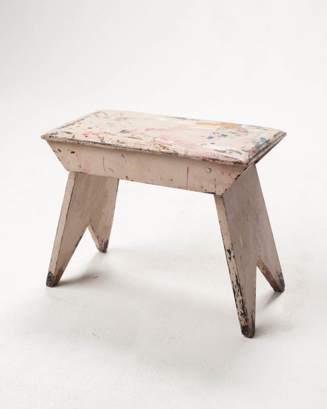 Front view of Vincent Foot Stool