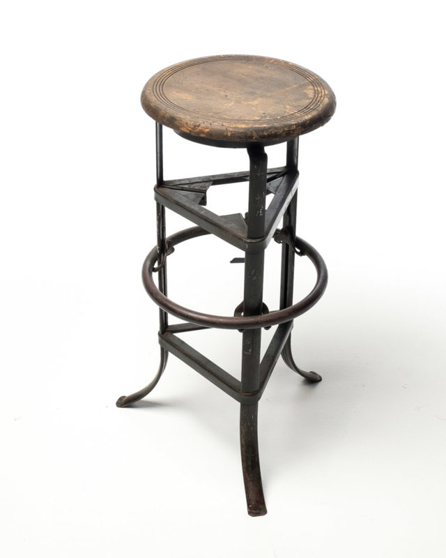 Front view of Victorian Stool