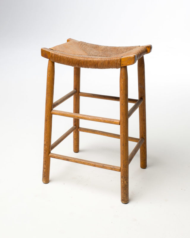 Front view of Twine Stool