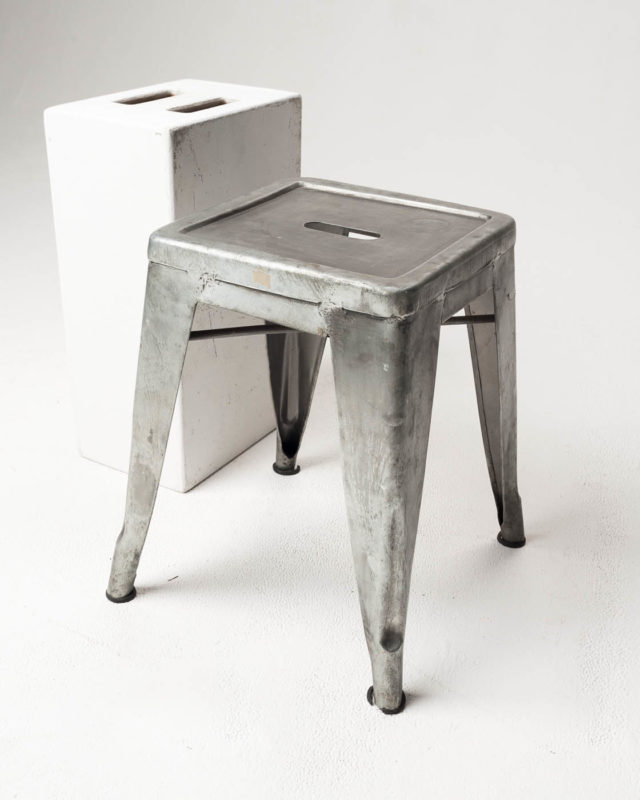 Front view of Trent Low Stool