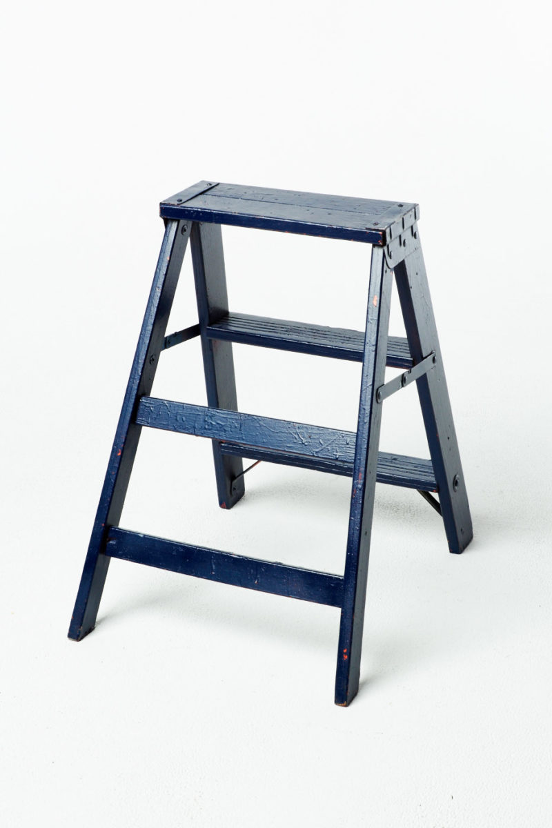 Alternate view 2 of Short Paintable Ladder Stool