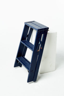 Alternate view 3 of Short Paintable Ladder Stool