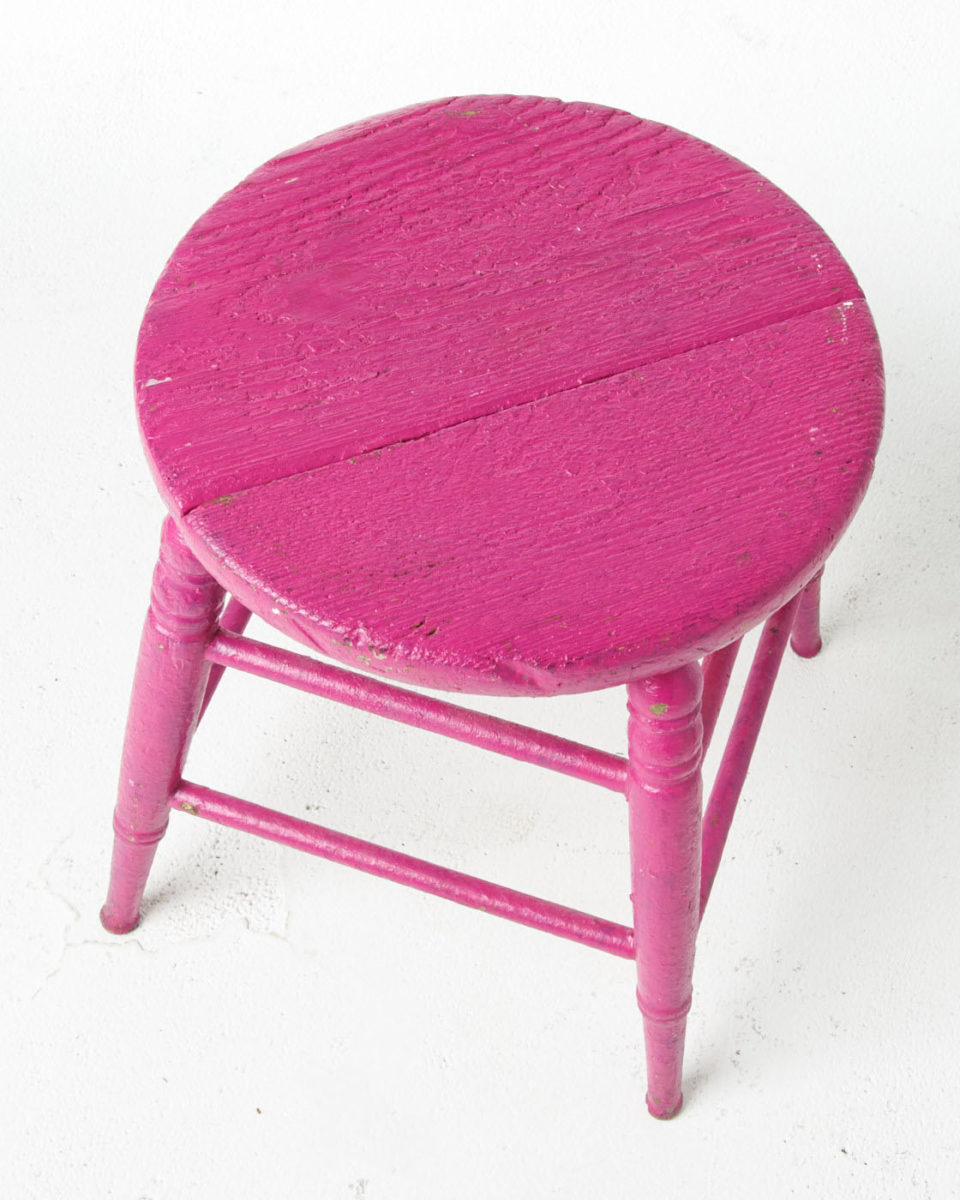 Alternate view 1 of Paintable Polly Low Stool