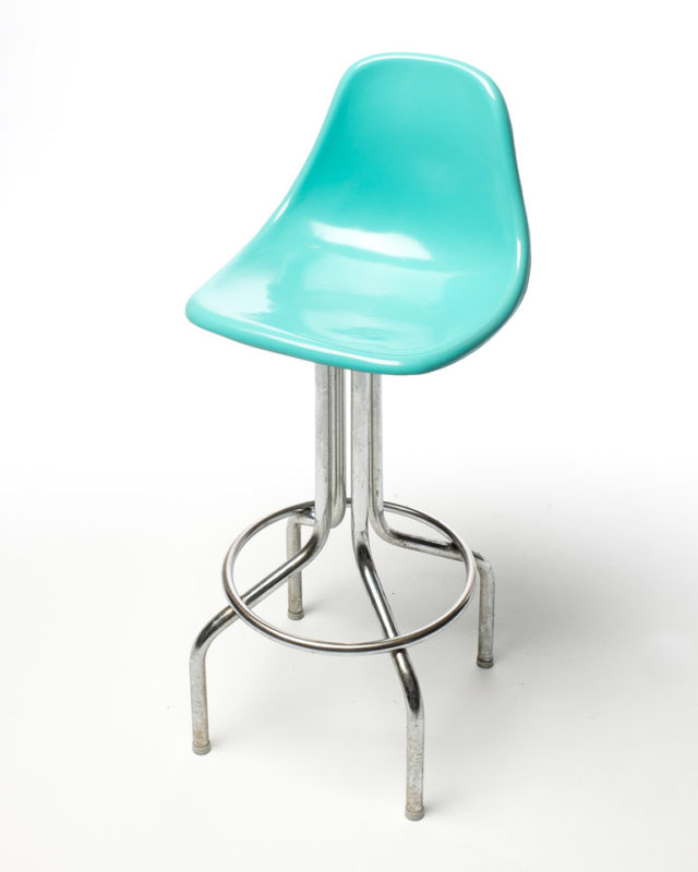 Front view of Mod Aqua Stool