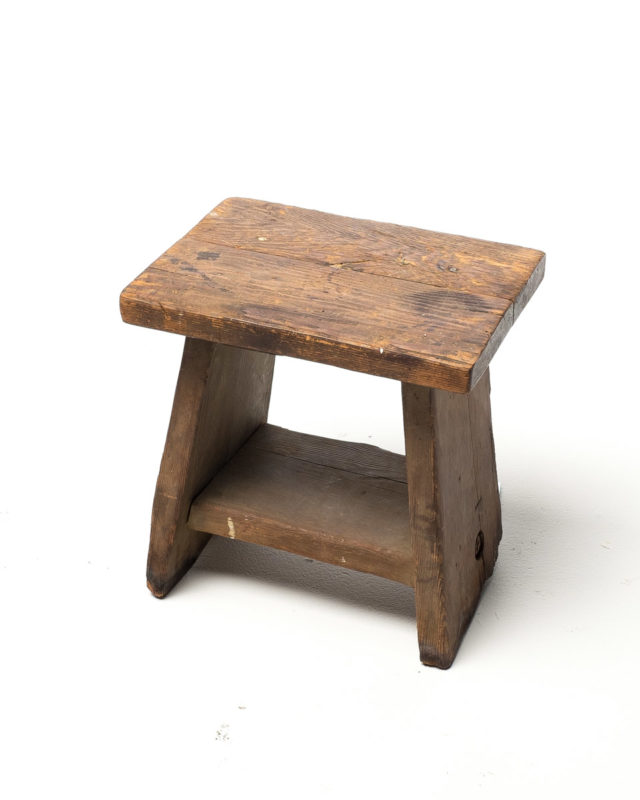 Front view of Frame Farm Stool