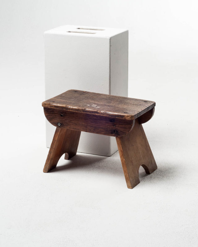 Front view of Dairy Stool