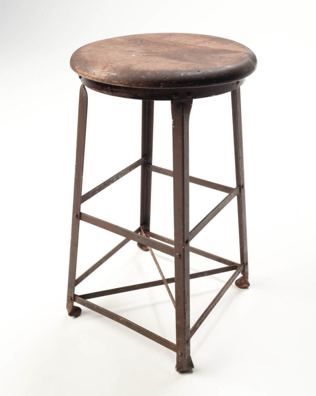 Front view of Frick Stool