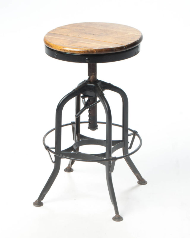 Front view of Watt Adjustable Stool