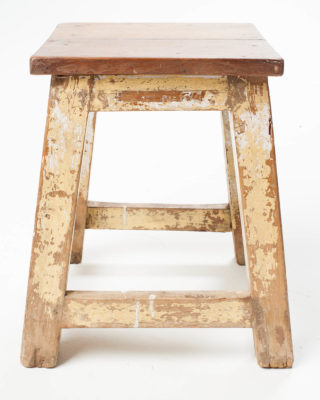 Alternate view 2 of Distressed Riser Stool