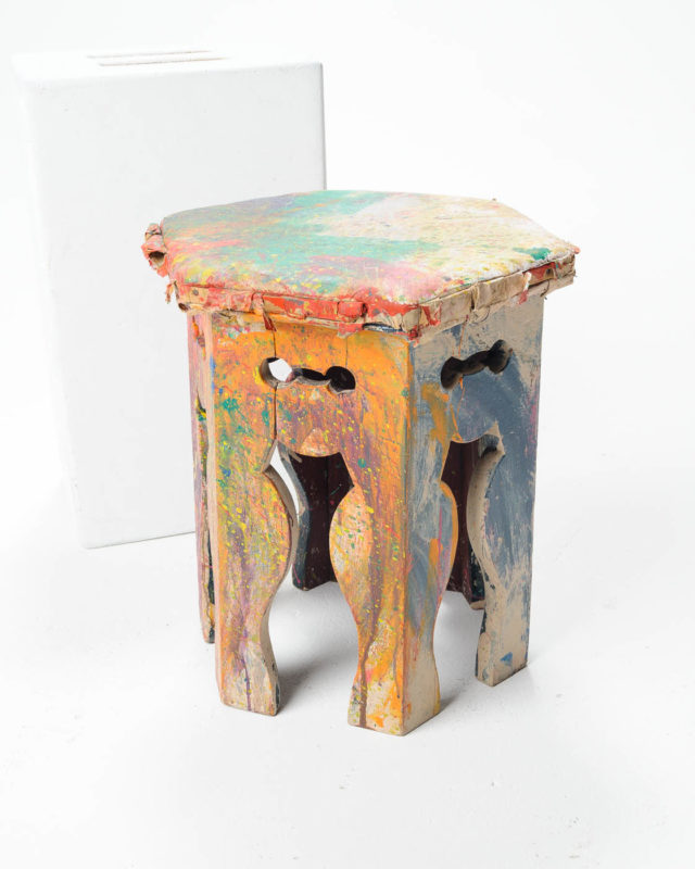 Front view of Artist Foot Stool