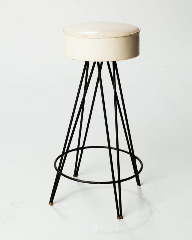 Front view of Hairpin Profile Stool