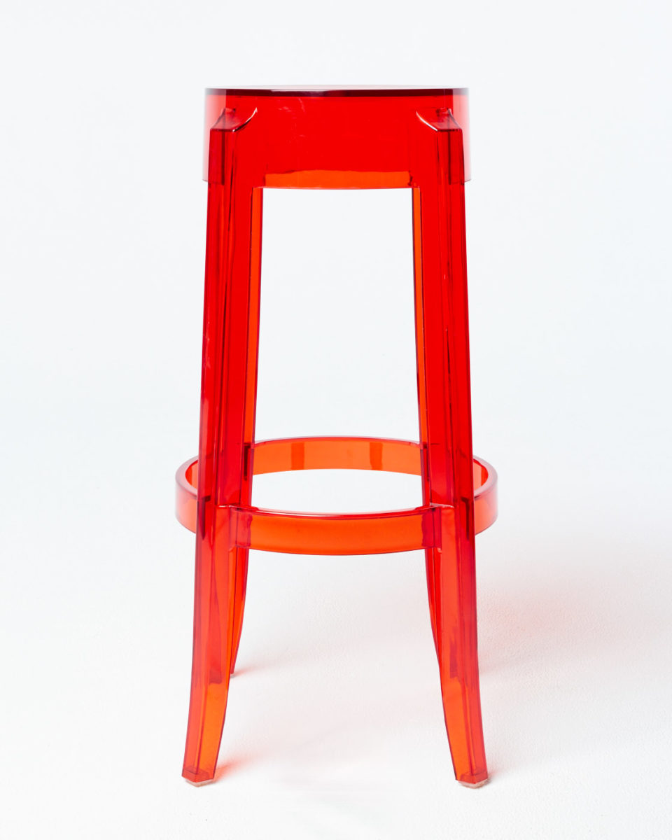 Alternate view 1 of Red Ghost Stool