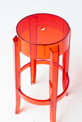 Alternate view 2 of Red Ghost Stool