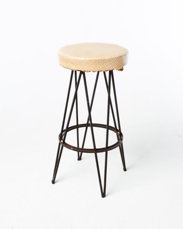 Front view of Culver Hairpin Stool