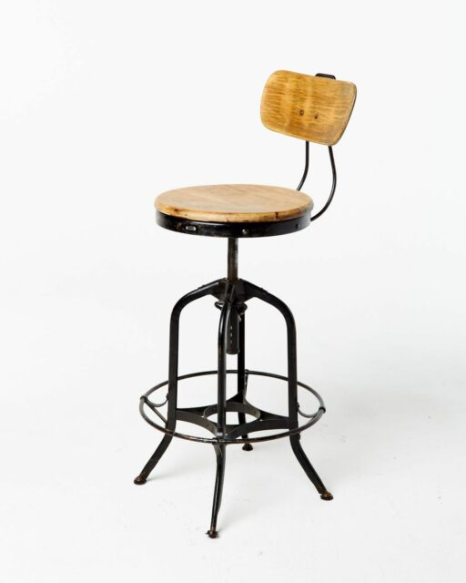 Front view of Rhodes Stool