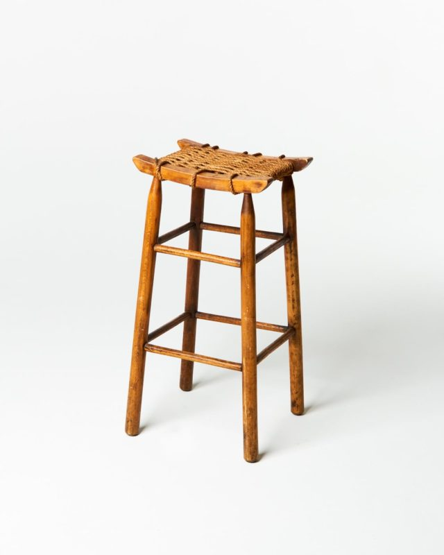 Front view of Braid Stool