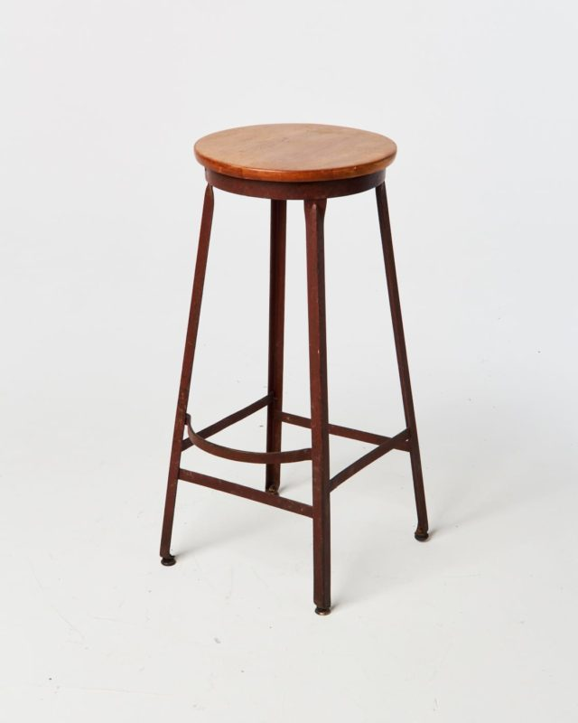 Front view of Salk Stool