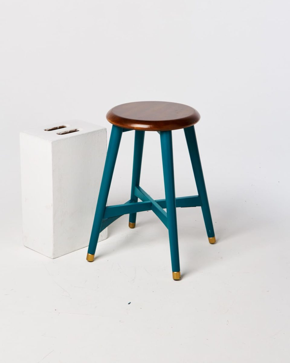 Front view of Martha Stool