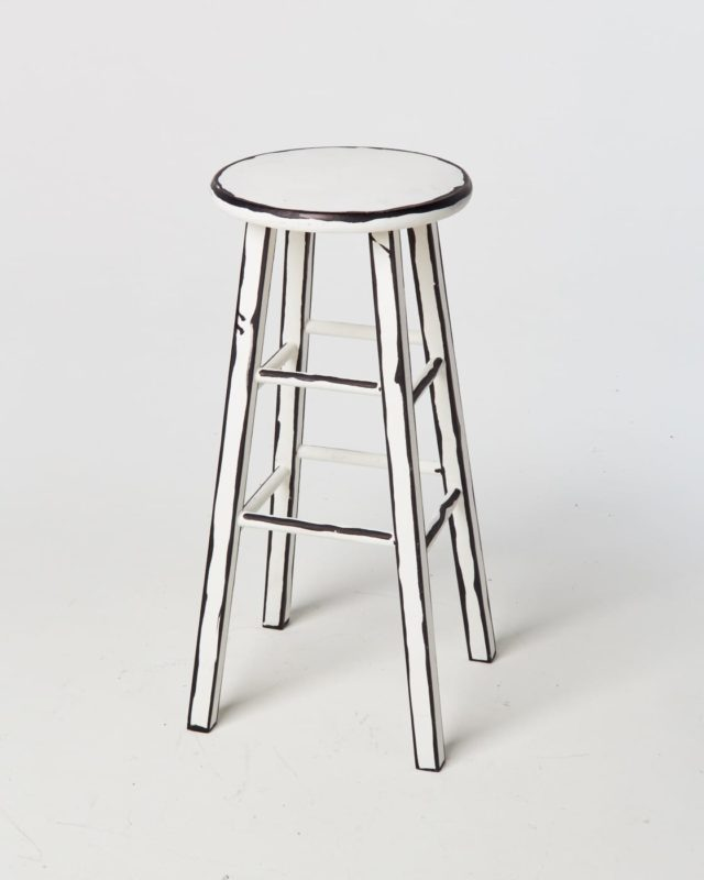 Front view of Peters Sketch Stool