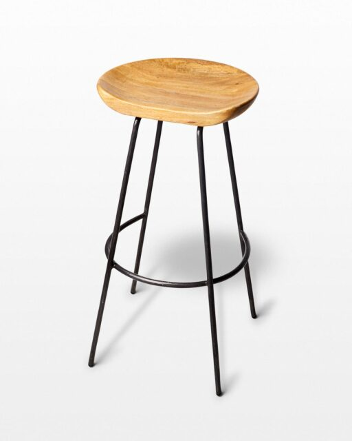 Front view of Afton Stool