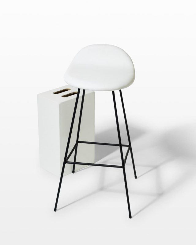 Front view of Hamlin Stool