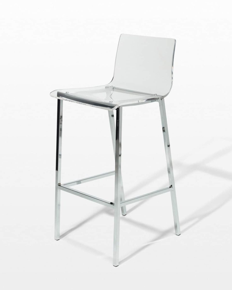 Front view of Bellaire Stool