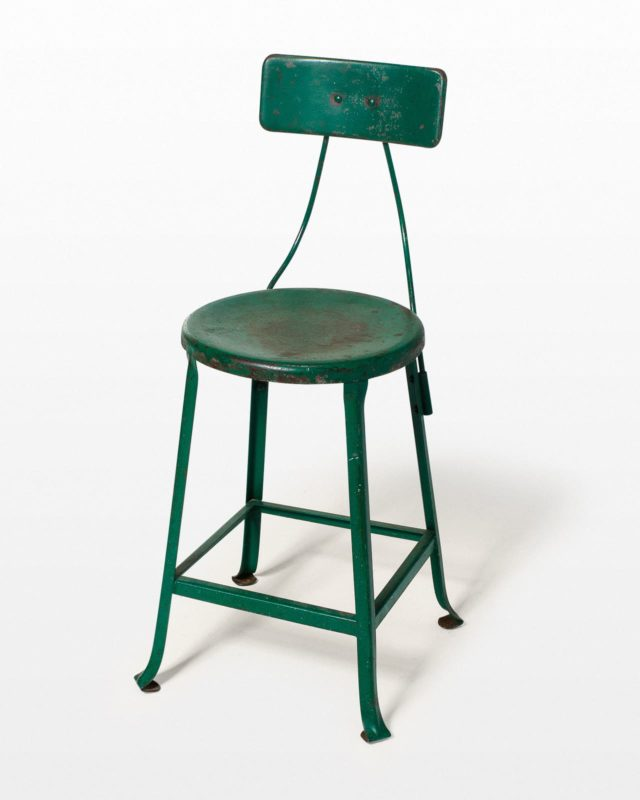 Front view of Emerald Stool