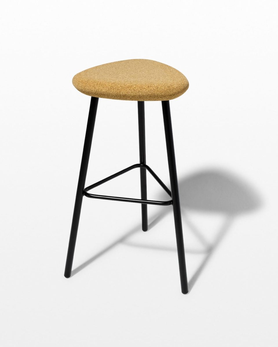 Front view of Fawn Cork Seat Stool