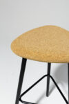 Alternate view thumbnail 2 of Fawn Cork Seat Stool