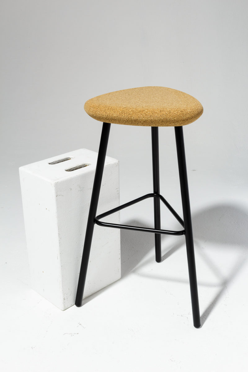 Alternate view 1 of Fawn Cork Seat Stool