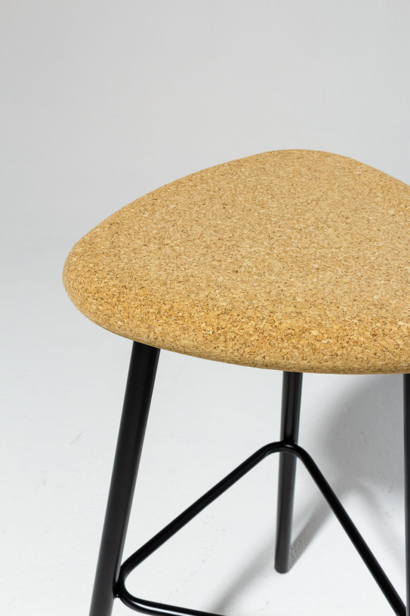 Alternate view 2 of Fawn Cork Seat Stool