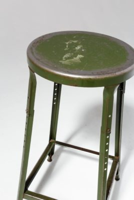 Alternate view 2 of Hoskin Distressed Green Stool