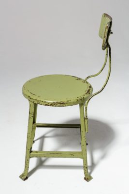 Alternate view 3 of Kane Distressed Green Stool
