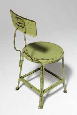 Alternate view 2 of Kane Distressed Green Stool
