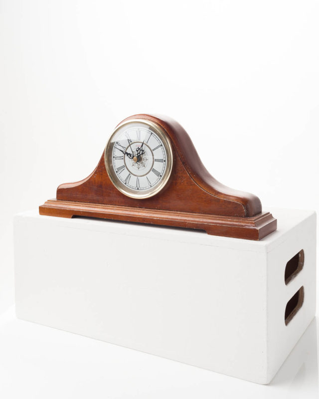 Front view of Mantel Clock