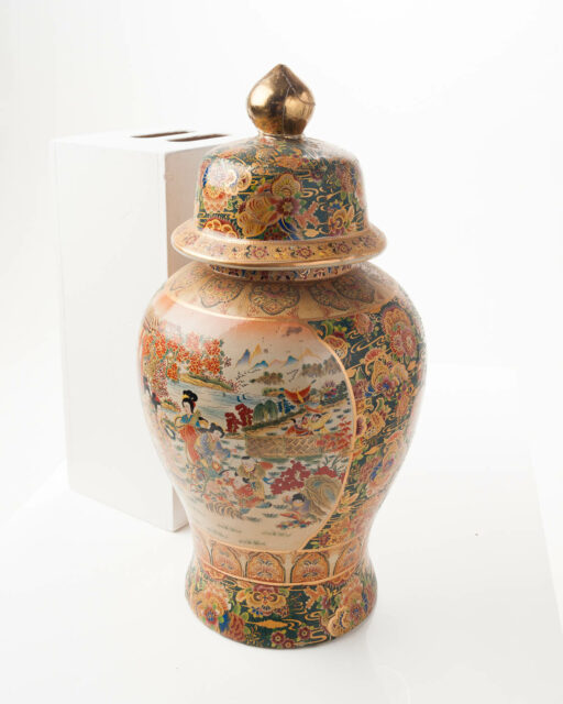 Front view of Medallion Vase