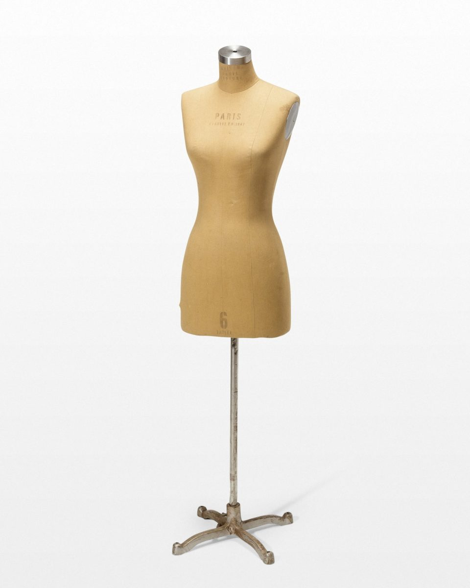 Front view of Female Dress Form Mannequin