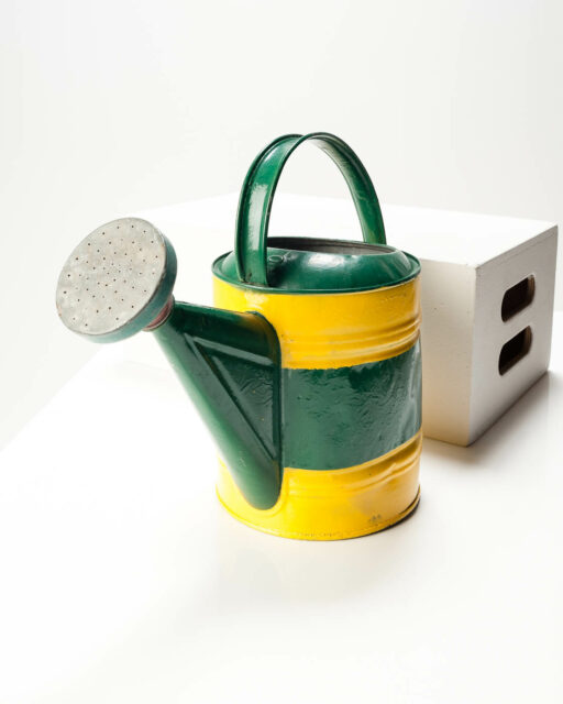Front view of Sun Stripe Watering Can