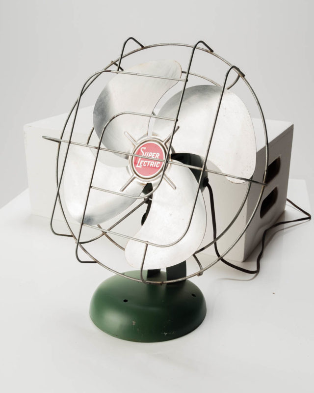 Front view of Sterling Electric Table Fan
