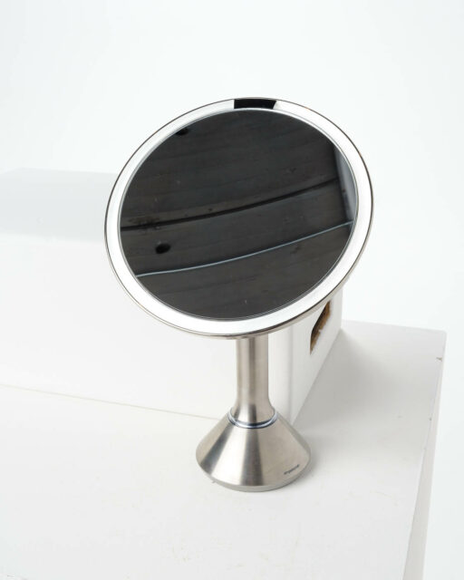 Front view of Bess Lighted Table Mirror