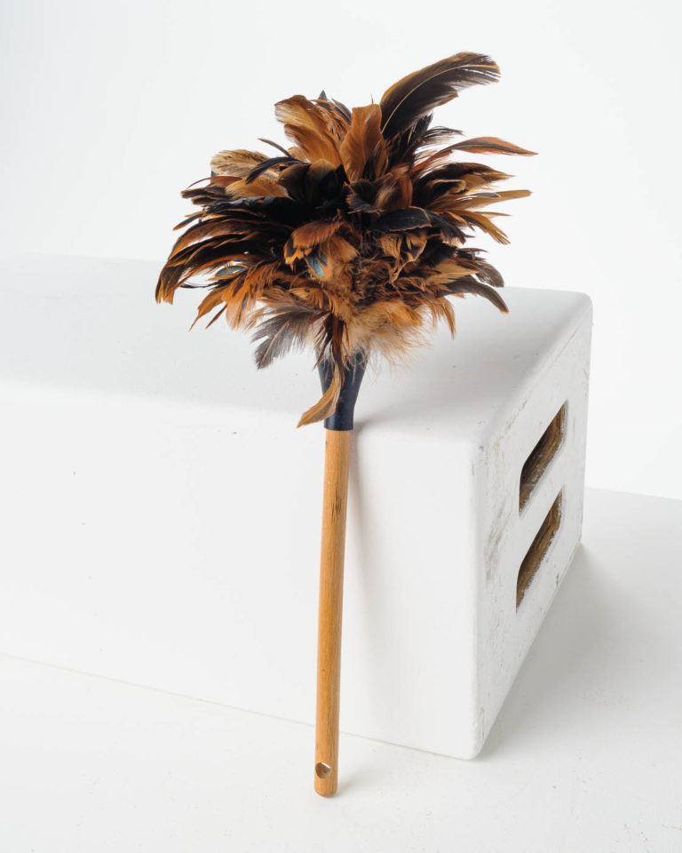 Front view of Poppin Feather Duster