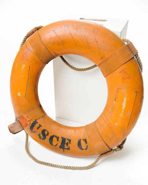 Front view of Jack Life Preserver Ring