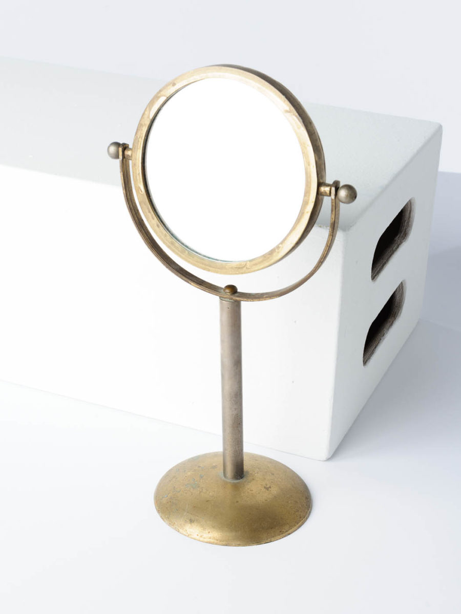 Front view of Paul Table Mirror