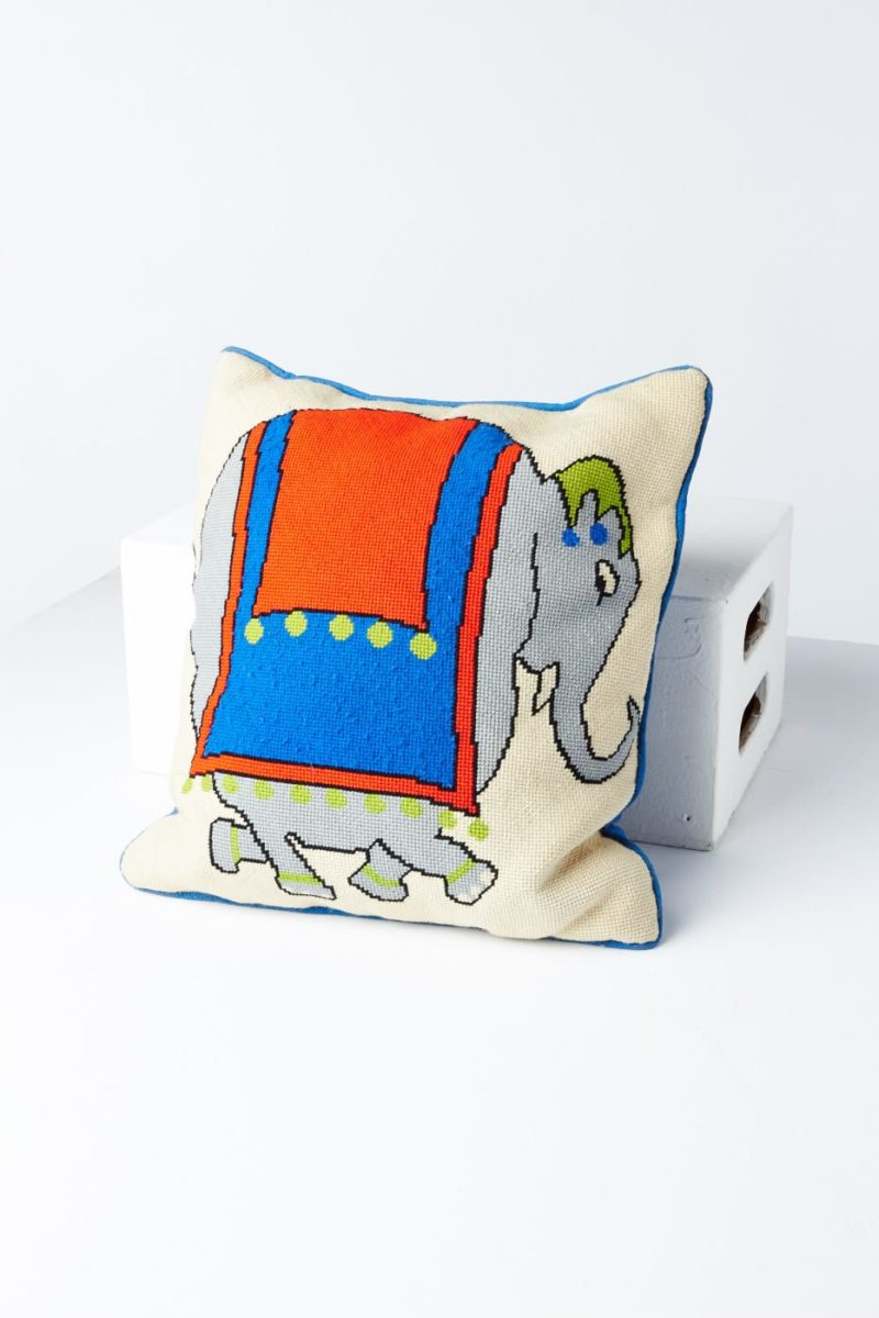 Front view of Elephant Pillow