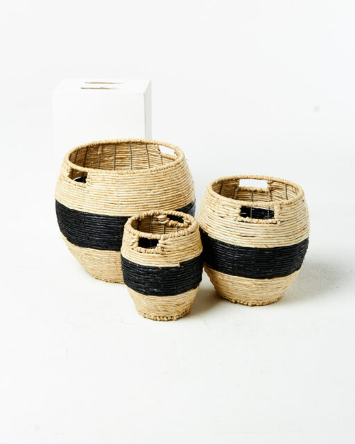 Front view of Saffron Basket Set