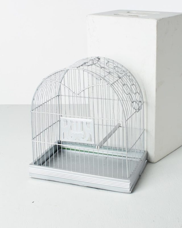 Front view of Hendrix Bird Cage